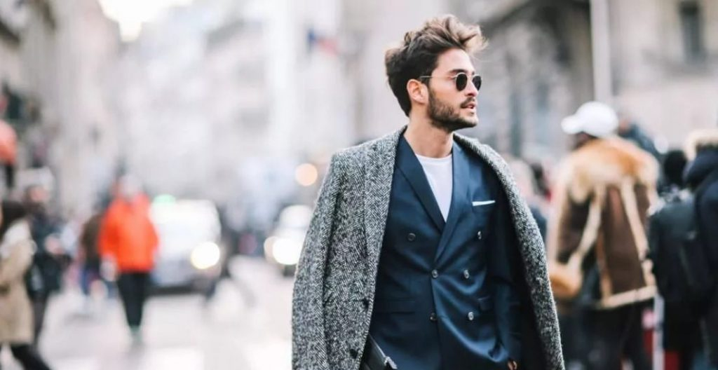 a stylish young man