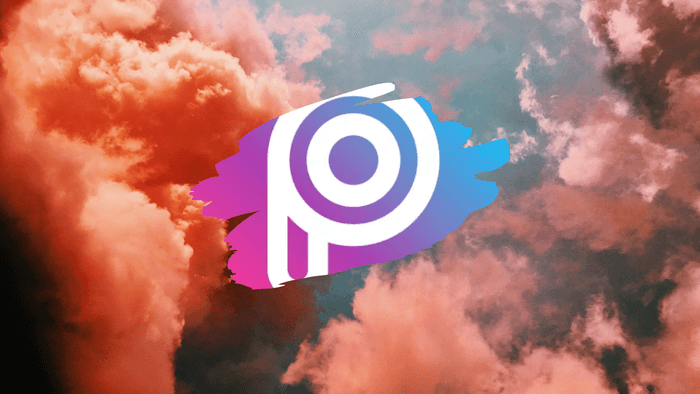 pics art logo in the sky