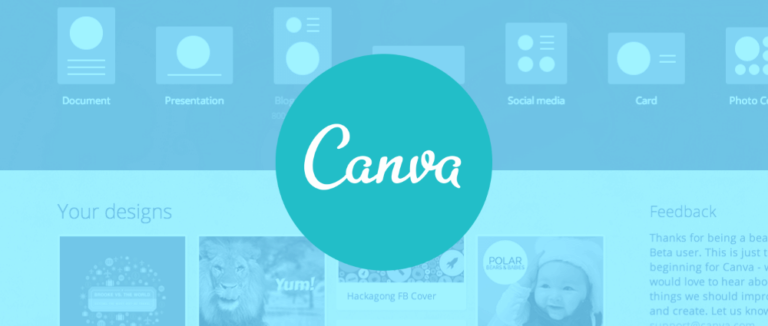 canva graphic design app logo